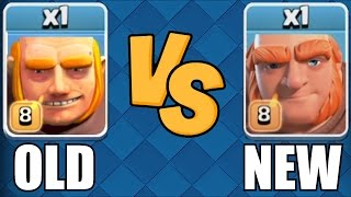 THIS LOOKS STUPID🔸NEW AND OLD GIANT COMP🔸Clash Of Clans