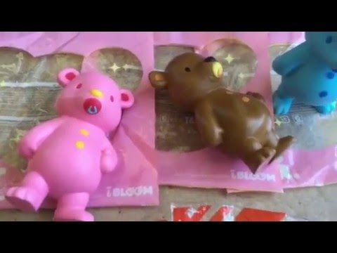 Ibloom Donut Squishy : IBloom x OSC Apple Donut Squishy Review + Experiment FunnyCat.TV