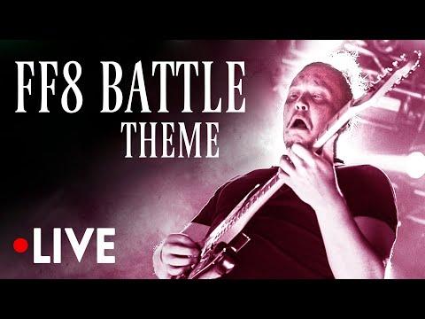 FINAL FANTASY VIII OST: Battle Theme LIVE   Music from FF8/FFVIII Soundtrack [ファイナルファンタジー8�トルテーマライブ]