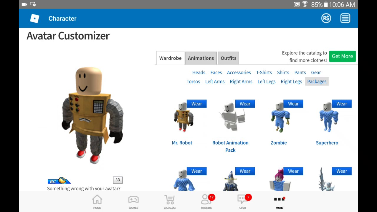 Roblox how to make part1/how to make Mr.Robot - YouTube
