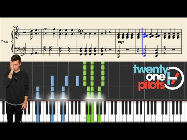 twenty one pilots - Migraine - Piano Tutorial + Sheets - Ytube.Org ...