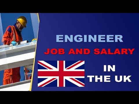 Engineer Salary In The UK - Jobs And Wages In The United Kingdom