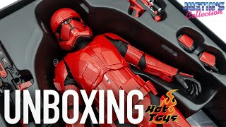 Hot Toys Sith Trooper Star Wars Rise of Skywalker Unboxing