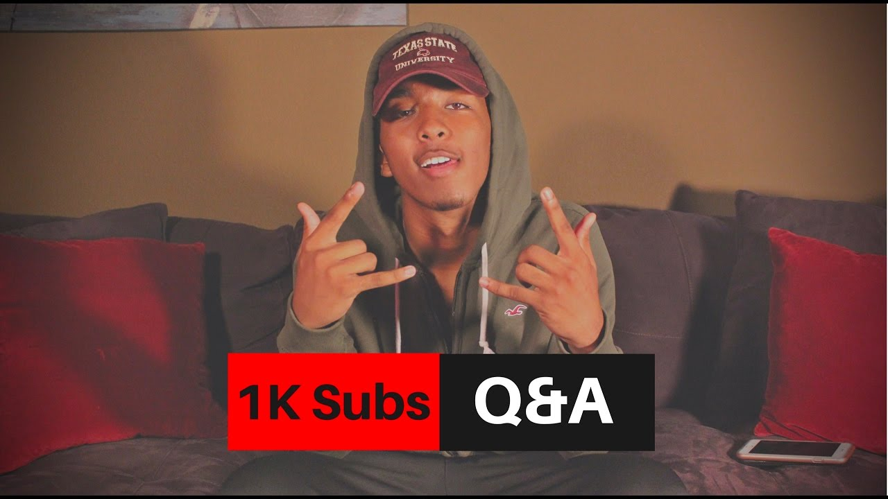 What's your body count? // 1K Subscriber Q&A