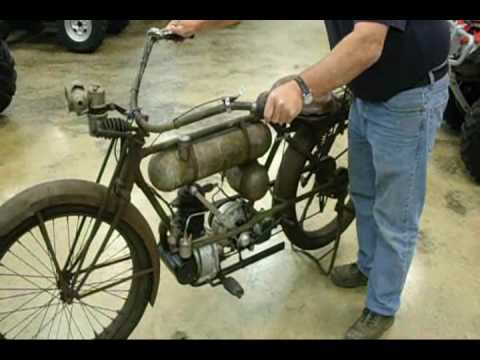 1917 Cleveland A2 Lightweight vintage antique motorcycle