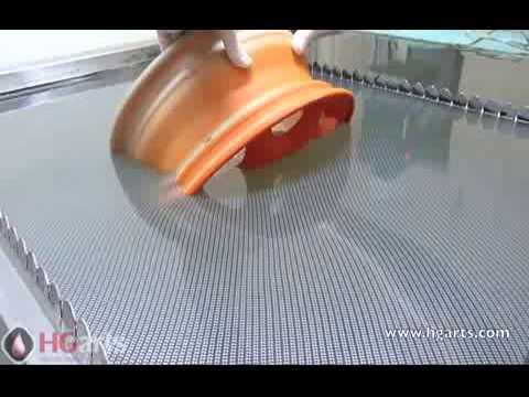 Аквапечать дисков (Water Transfer Printing Process)