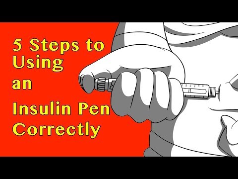 5 Steps to Using An Insulin Pen Correctly