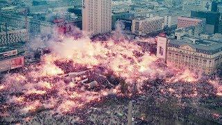 Marsz Niepodległości 2018 - WARSZAWA TIMELAPSE
