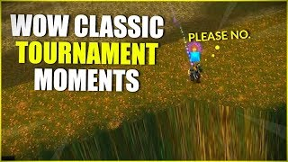 WoW Classic: Tournament Highlights