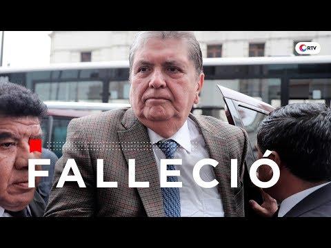 Falleció Alan García tras dispararse en la cabeza | RTV Especiales