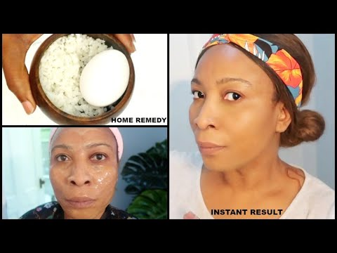 HOW TO LIFT AND FIRM THE SKIN AT HOME USING RICE AND EGG, ANTI AGING RICE CREAM | KOREAN INSPIRED