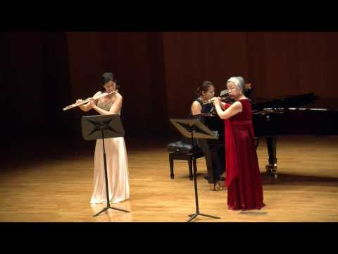 "Doppler; Souvenir de Prague Op.24 For 2 Flute & Piano in ""HoHye Method"""