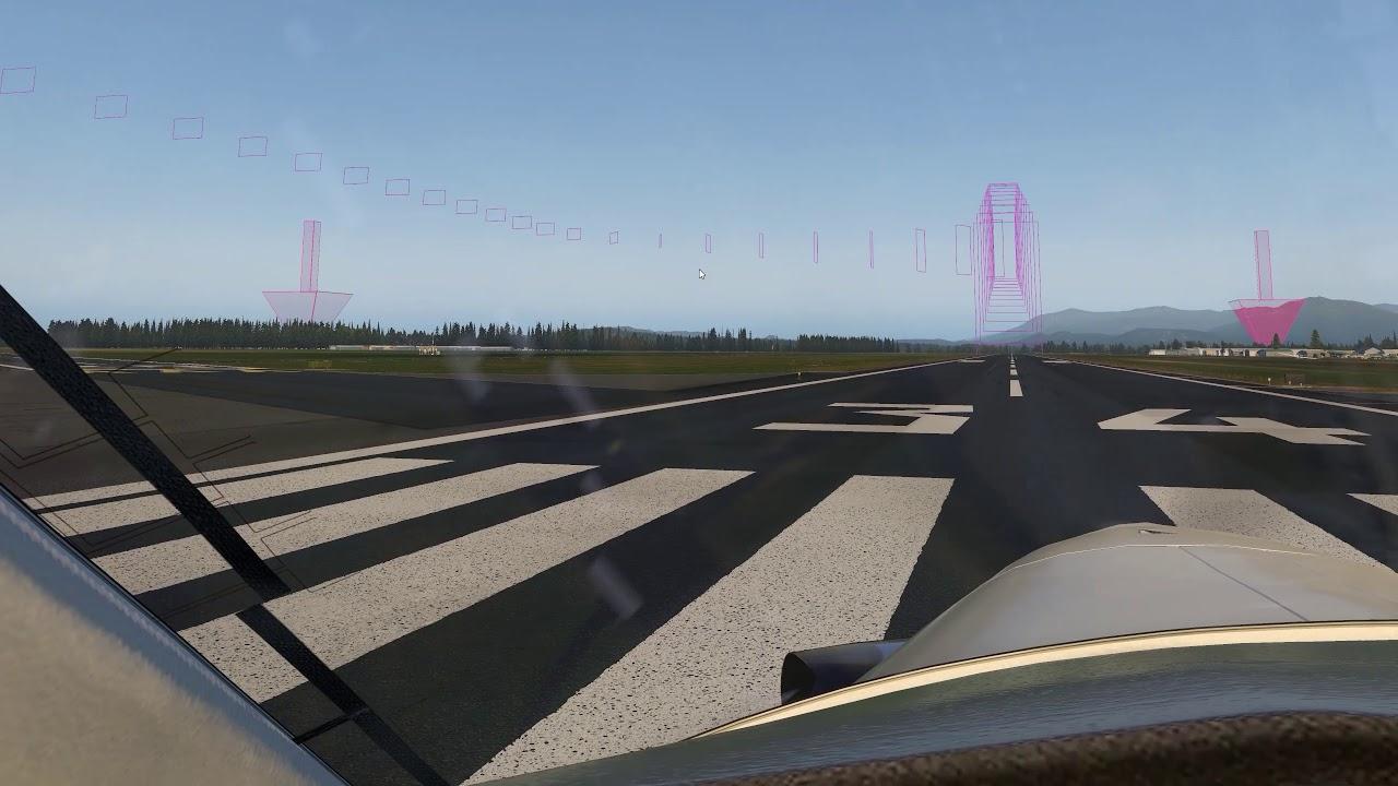 Airfoil Labs KAWO Scenery - Carenado PC12 X Plane - Mowing Grass