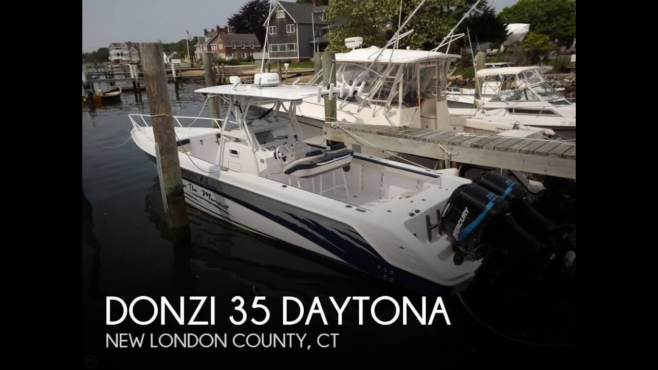 [UNAVAILABLE] Used 2003 Donzi 35 Daytona in Mystic, Connecticut