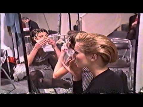 Models Backstage Fall 1992