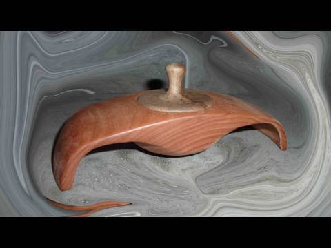 Woodturning Projects Winged Box 1of 2 Youtube