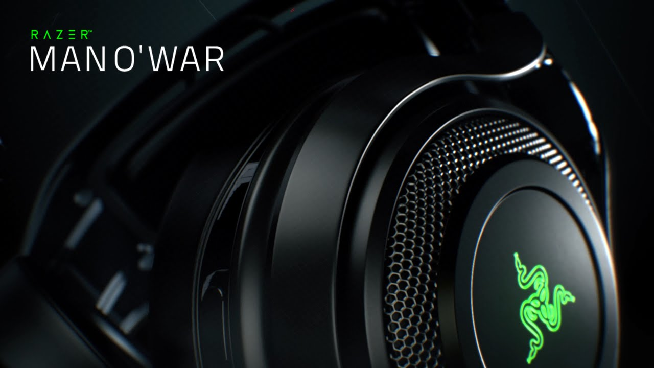 1a1d7c2fcf0 The Razer ManO'War 7.1 Wireless Gaming Headset - YouTube