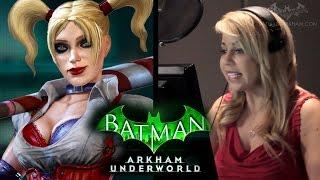 Batman: Arkham Underworld - The Voice of Harley Quinn