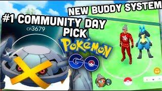 New buddy system & #1 December CD pokémon   Pokemon GO news