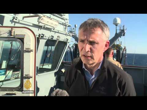 Refugee crisis: NATO's naval patrol targets smugglers
