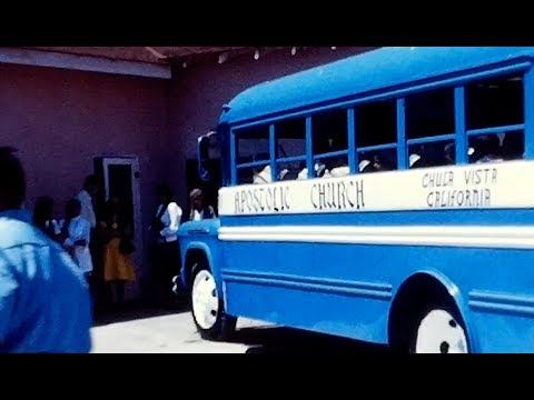 Otay Apostolic Church Bus Inauguration 1971 - Easter -  Lucky Waller Park 1972/1973