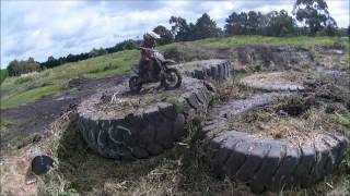 Kogan Lock  -Age 6-  Endurocross Training TkII