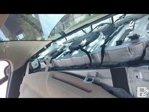 2012 Hyundai Genesis back window 8 inch subwoofer ... on