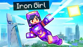 Saving My Friends as IRON GIRL in Minecraft!