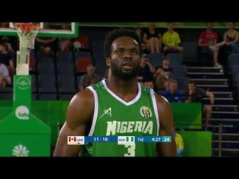 Canada Vs. Nigeria Commonwealth Games 2018 - Justus Alleyn