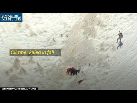 Climber killed in fall