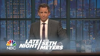 Some Words on Paris - Late Night with Seth Meyers