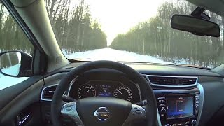 2016 Nissan Murano 3.5 CVT POV Test Drive