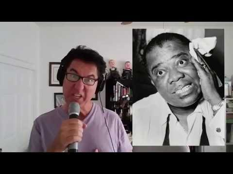 Louis Armstrong tribute by Tom Stevens