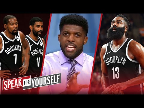 Harden, KD & Kyrie are too problematic together for Nets' success — Acho   NBA   SPEAK FOR YOURSELF