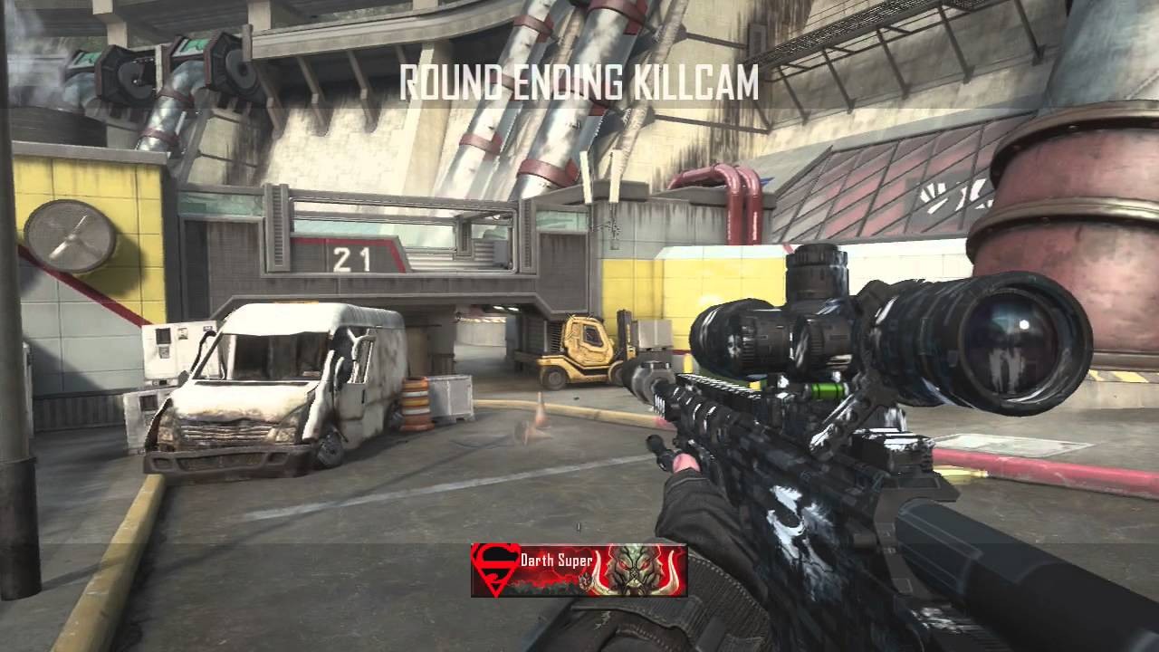 quotsilenced ballistaquot call of duty ghosts camo sniping