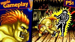 Street Fighter Collection 2 ... (PS1) 60fps
