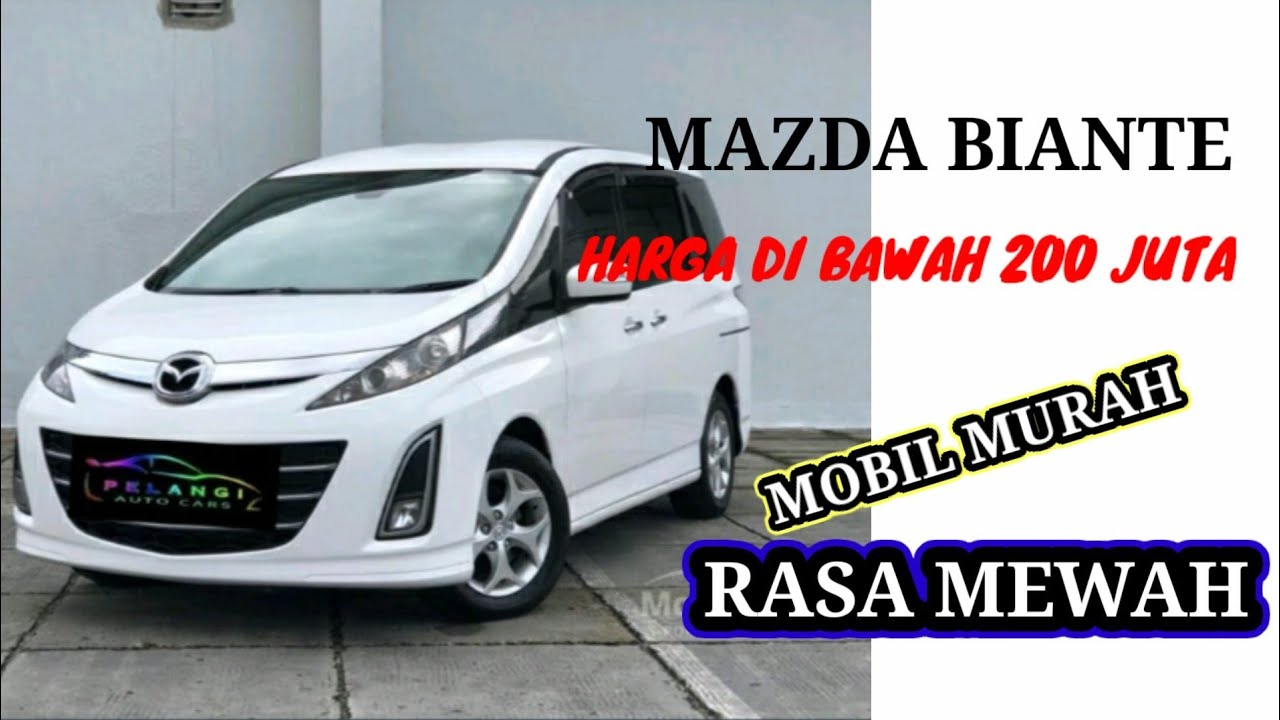 Kelebihan Harga Mazda Biante Review
