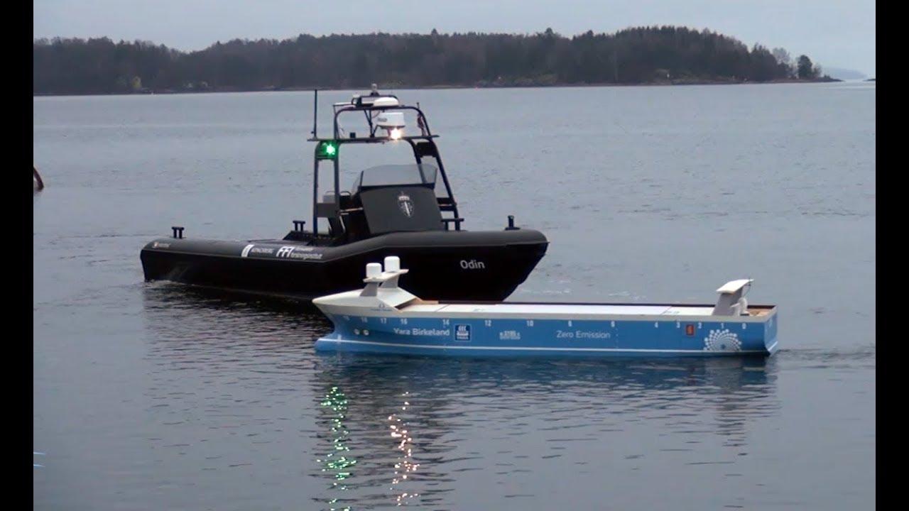 New Norwegian Autonomous Shipping Test-Bed Opens - Kongsberg