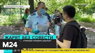 Спасатели проводят рейд по Терлецкому парку - Москва 24
