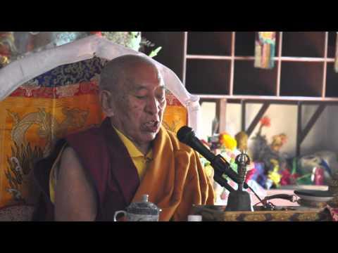 Guru RINPOCHE Empowerment given by THE V.V Khenchen Thrangu RINPOCHE To TAMU BOUDHA SAMAJ