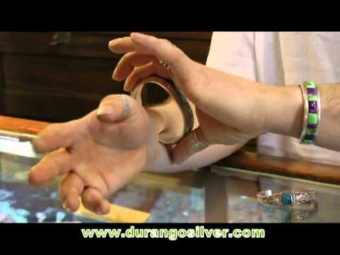 How to put on a Silver Cuff Bracelet