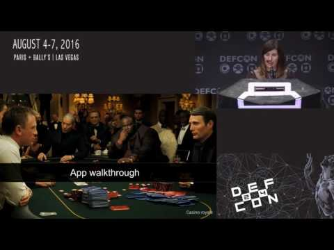 DEF CON 24 - Elie Bursztein, Celine Bursztein,  - Cheating at Poker