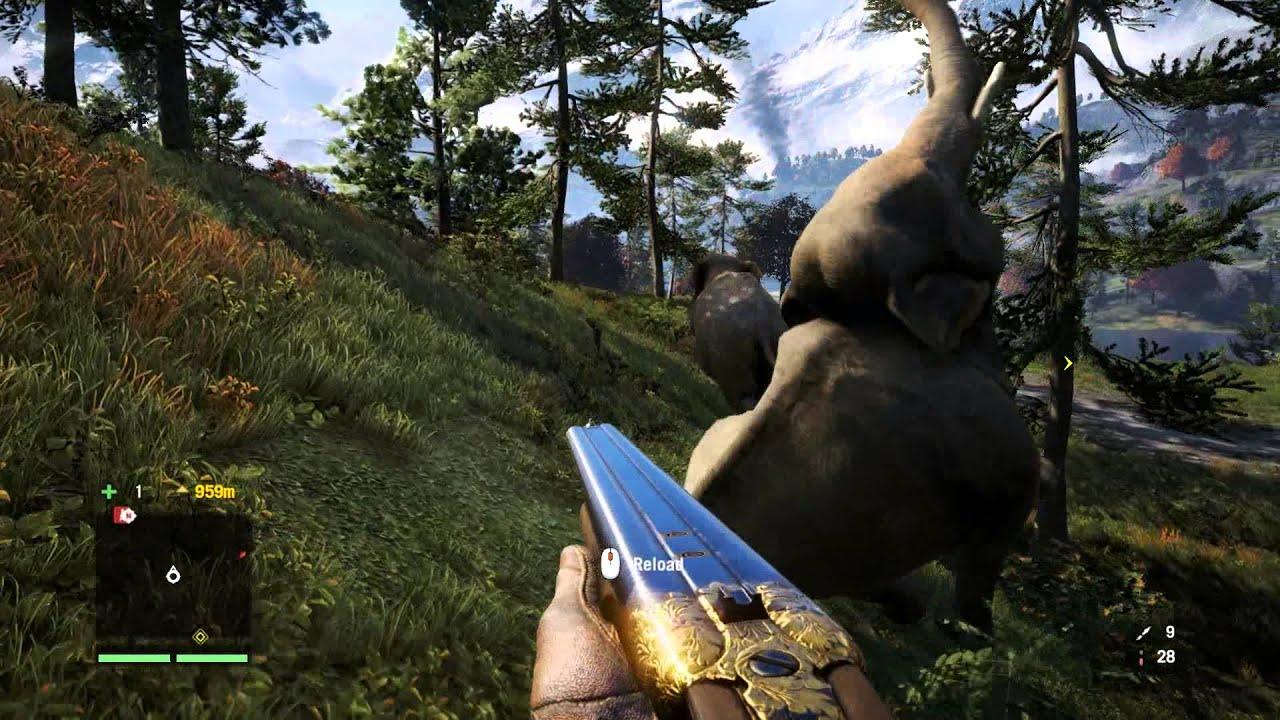 Far Cry 4 Wallpaper Elephant: Elephant Gun Vs. Elephants