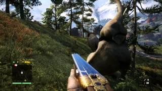 Far Cry 4 - Elephant Gun vs. Elephants