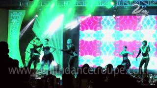 Salsa Dance Performance Zenith Dance Troupe Group New Delhi Mumbai India