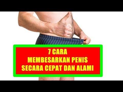 Cara membesarkan penis secara