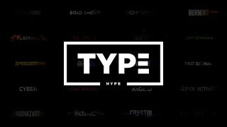 After Effects Template: TypeHype - Titles Animation \\ Motion Typography Text