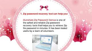 Learn the easy zip password recovery tool