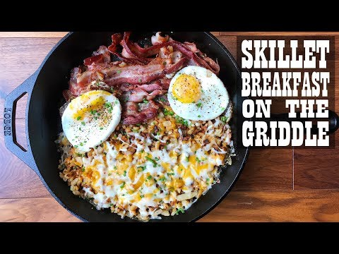 Skillet Breakfast on the Cuisinart 360 Griddle