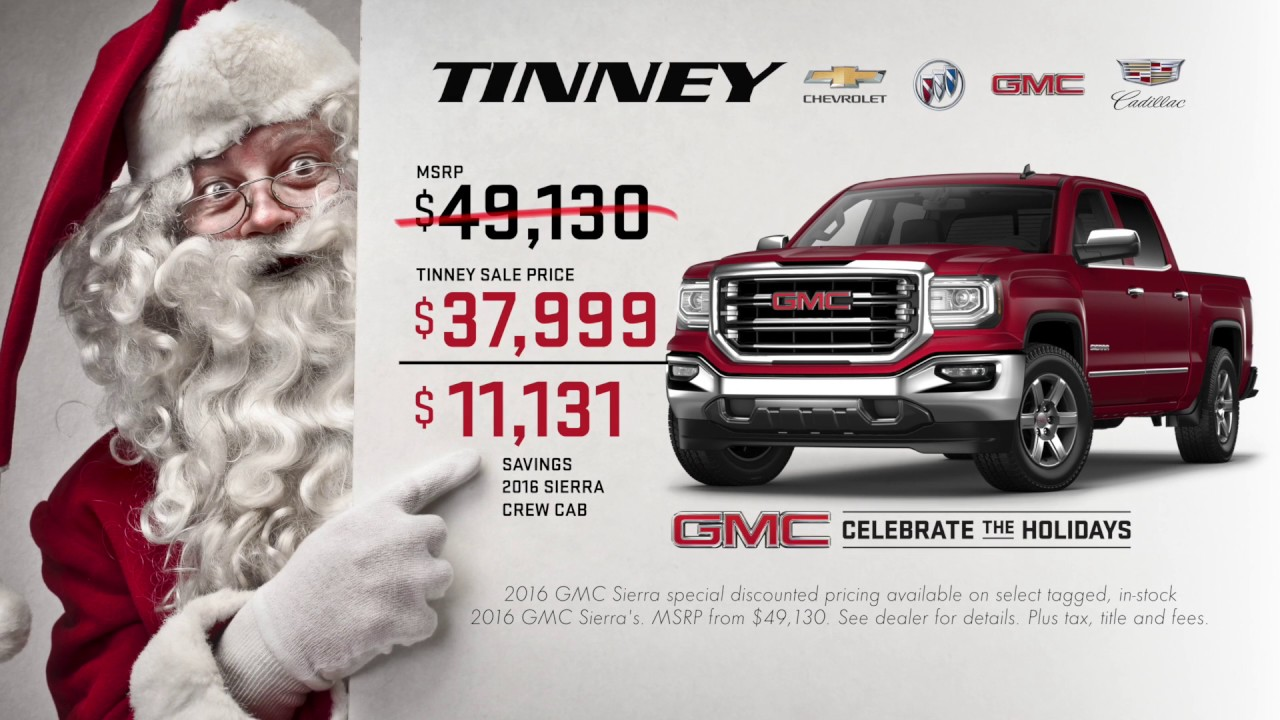 GMC Holiday Sales Event Current Offers Lease And Specials On - Gmc sierra invoice price